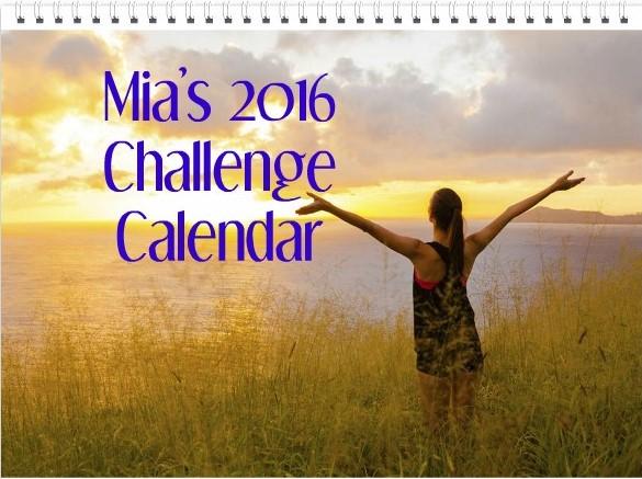 12 Month Challenge Calendar