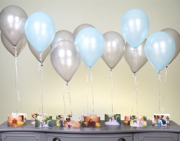 Photo Balloon Chandelier