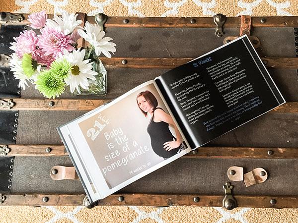 Pregnancy Progression Photo Book