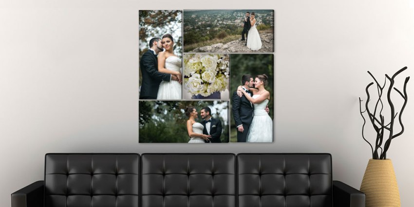 Wedding Canvas Display