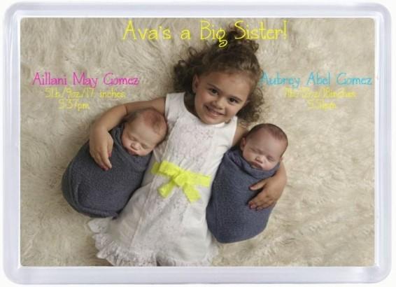 Newborn Magnet-Big Sister