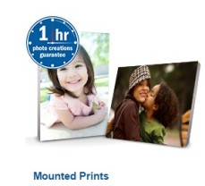 1 Hour Mounted Prints