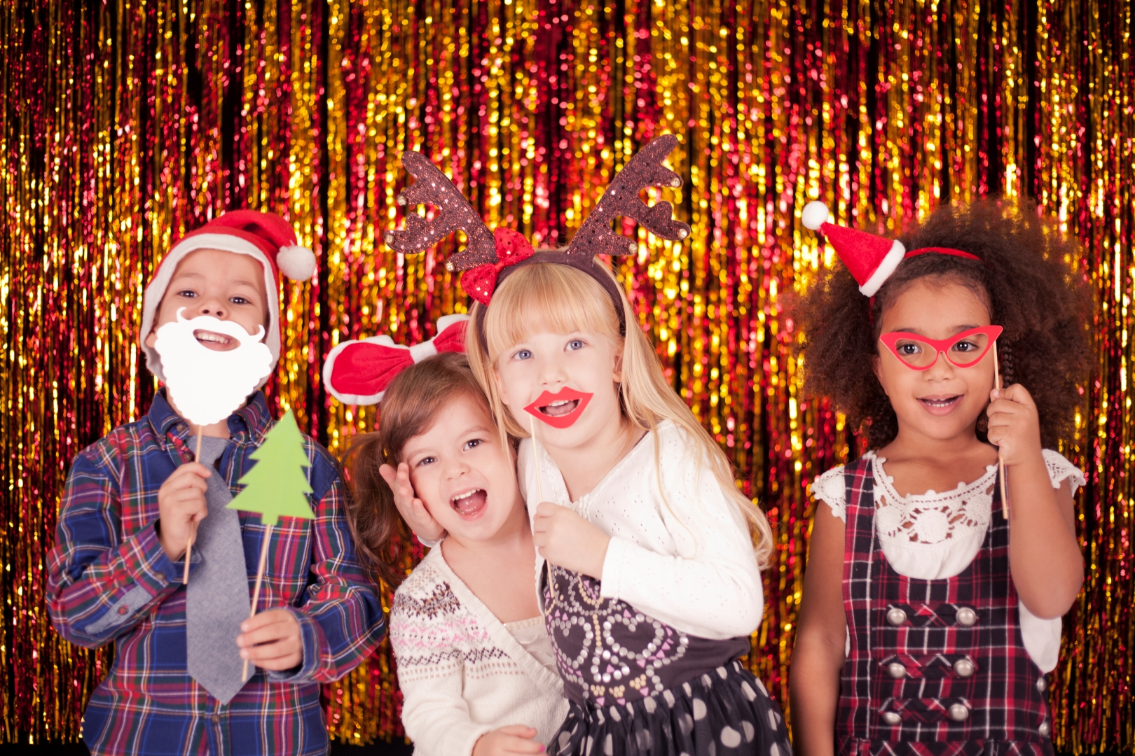 Holiday Themed Photo Booth