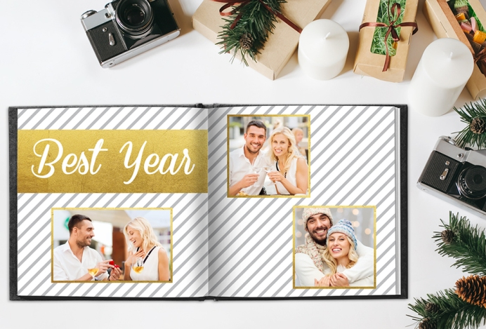 New Years Photo Book