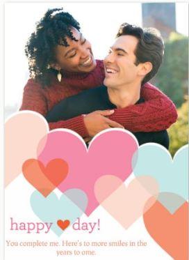 Valentine's Day Photo Greeting Card