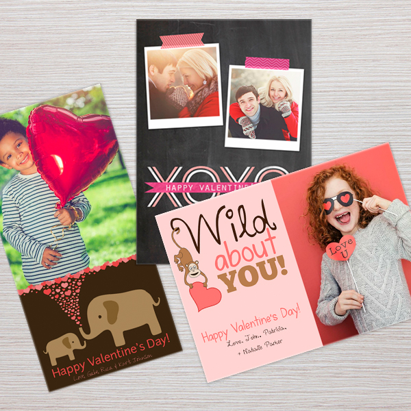 Valentine's Day Photo Greeting Cards