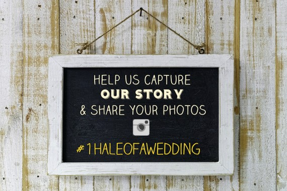 wedding-hashtag-sign