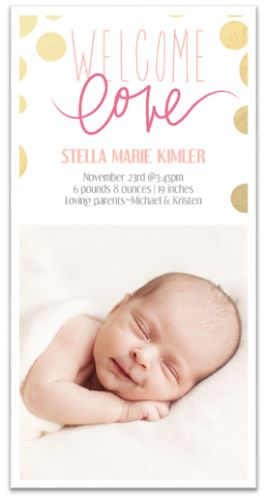Birth Annoucement Cards