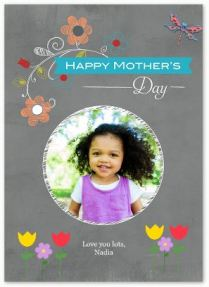 2017 Mother's Day Card- Precious Floral