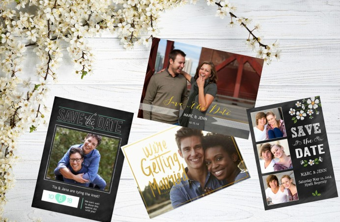 Save the Date Annoucement Cards